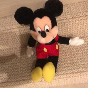 Mickey stuffed.